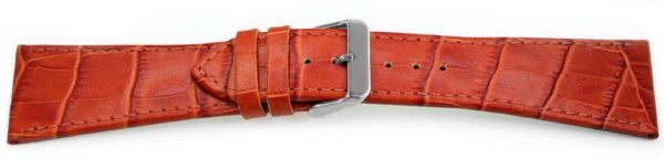 30mm tan leather watch band
