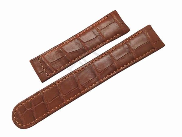 Tan Alligator Watch Band for Ebel 1911, Voyager and Discovery - eb842