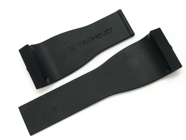 Tag Heuer Microtimer Black Rubber Strap TG003