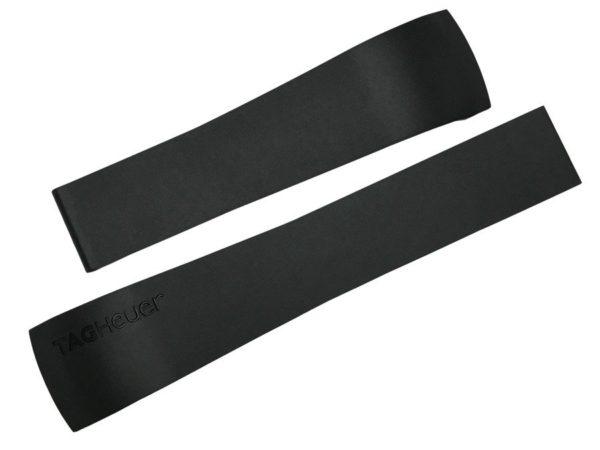 TG005 Genuine Replacement Black Rubber Tag Heuer Monaco