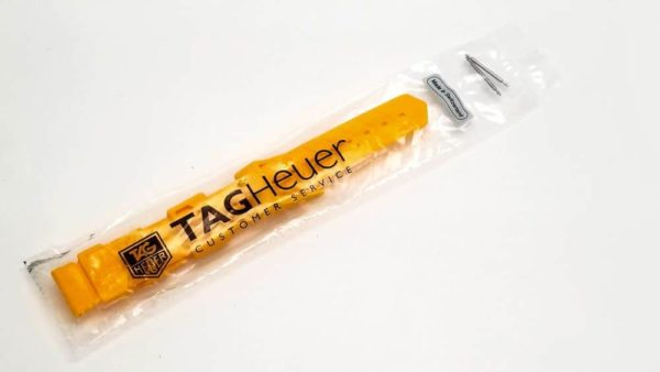 TG080 - Tag Heuer Formula 1 Midsize  Yellow Plastic Band - BS0080