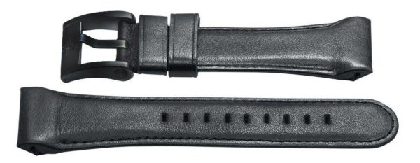 tw steel watch band - for 42mm Goliath CE3014 - 30mm black leather band