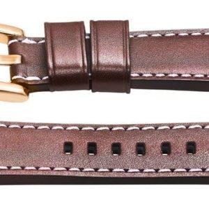 TW Steel 26mm brown leather watch strap - twb83