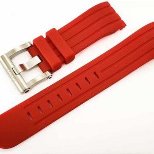 TW Steel Grandeur 45mm - Red Silicone 22mm
