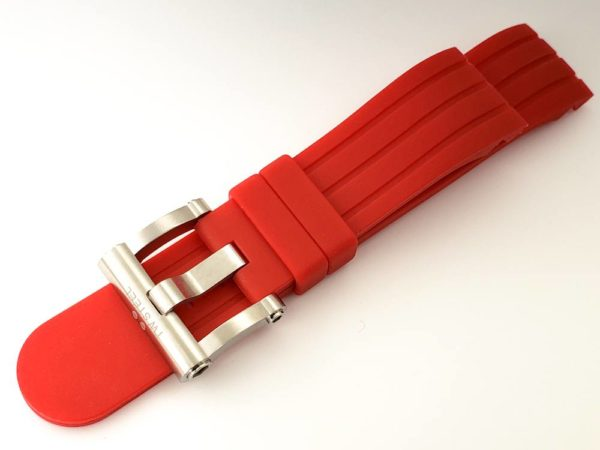 TW Steel Grandeur Tech 45mm Red Silicone Watch Strap