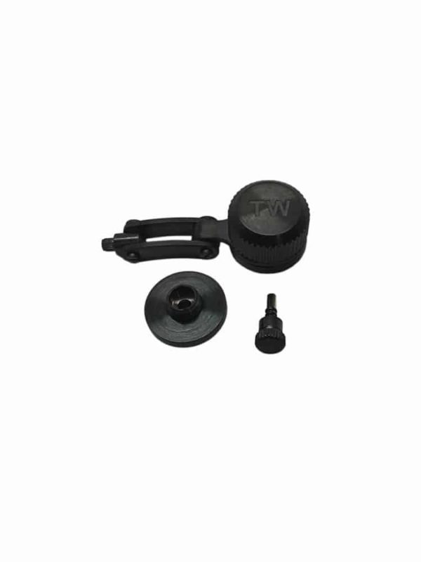 TW Steel Replacement Black PVD Crown for 45mm Canteen Models