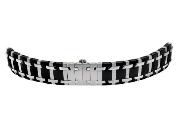 two tone pvd bracelet CO838 concord saratoga