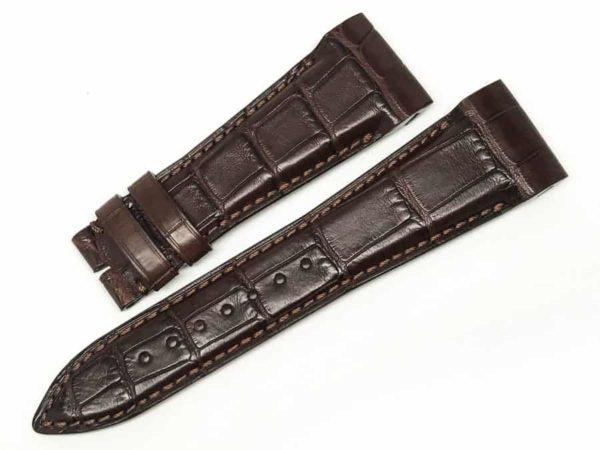 unb24gwb - Ulysse Nardin Brown Alligator - 24mm main
