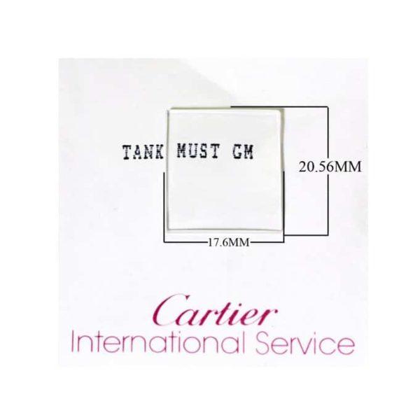 Men's Cartier Tank Must Watch crystal-2