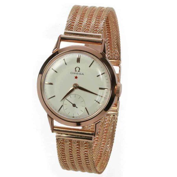 Vintage-Omega-18k-gold-watch