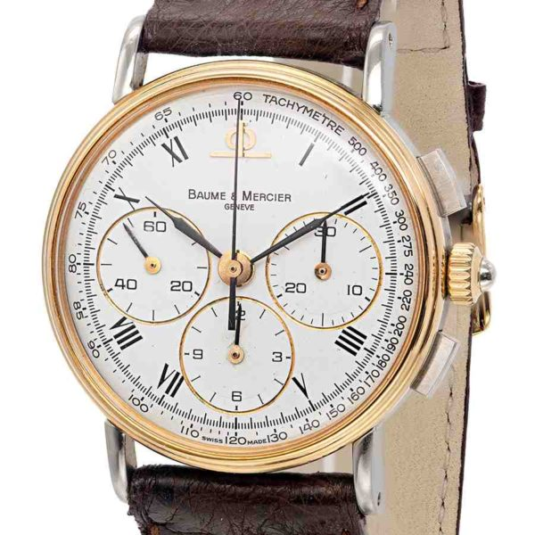 Vintage Baume & Mercier Lemania 1873 Chronograph
