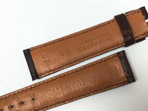 we18bab - Wempee Brown Alligator 18mm 2