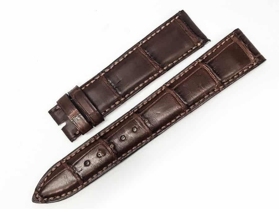 we18bab - Wempee Brown Alligator 18mm main