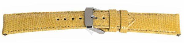 Yellow Short Lizard Watch Band