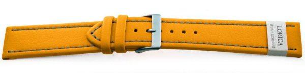 Genuine-Leather-Watch-Band-Microfiber-Yellow