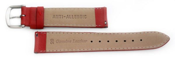 Smooth Leather Watch Band / Quick Release