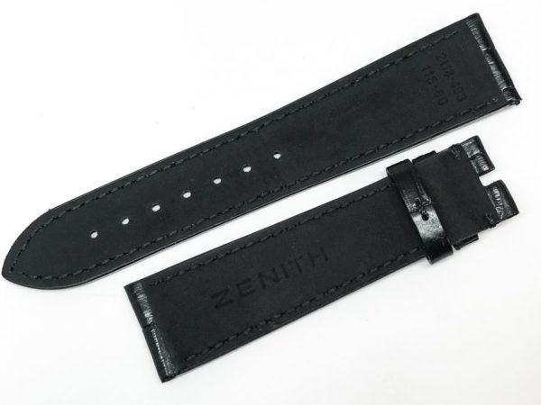 zen22bwb - Zenith Black alligator 2118-493 2