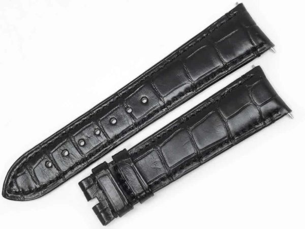 Zenith Black 21mm Alligator Watch Strap ZEN21bal