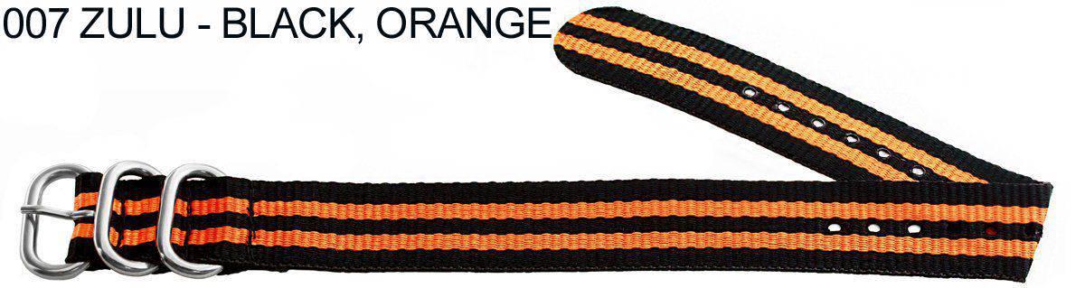 James Bond Nylon Zulu - black, orange