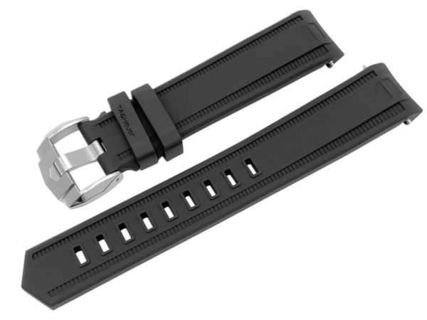 Tag Heuer Aquaracer 20mm Black Rubber Band (11 of 11)