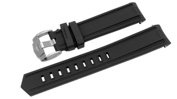 Tag Heuer Aquaracer 20mm Black Rubber Band (4 of 11)