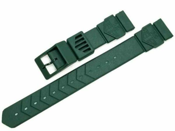 Brand New Original Tag Heuer FORMULA 1 F1 Green Plastic 18mm Watch Band